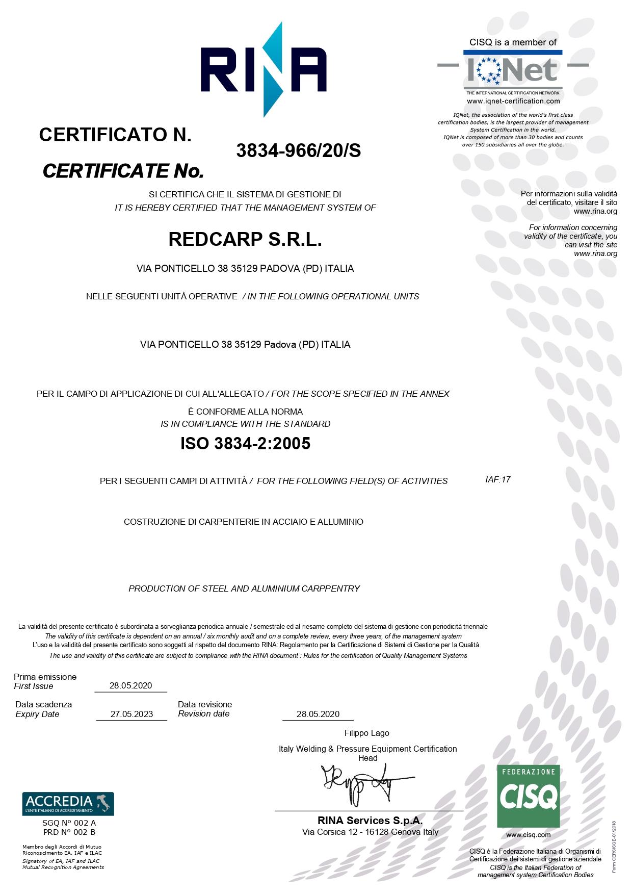 certificazioni-qualità-redcarp